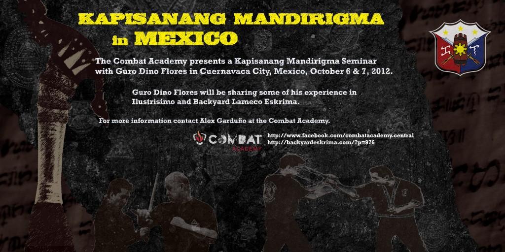 KAPISANANG MANDIRIGMA MEXICO kali arnis eskrima filipino martial arts philippines lameco ilustrisimo KAPISANANG MANDIRIGMA MEXICO kali arnis eskrima filipino martial arts philippines lameco ilustrisimo