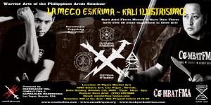 Seminar: Lameco SOG Eskrima and Kali Ilustrisimo with Guro Ariel Flores Mosses and Guro Dino Flores. Las Vegas, Nevada. October 11h, 2020. http://mandirigma.org/?p=3817